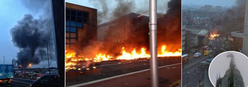 Elicottero Caduto Oggi : Un elicottero e caduto vicino alla stazione ferroviaria