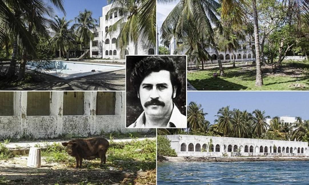 La casa del re della cocaina le inquietanti foto della for Disegni della casa del merluzzo del capo